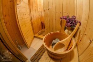 sauna chata na borowinowej