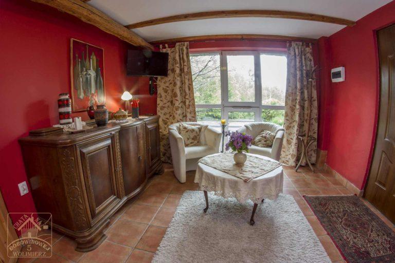studio rubin salon i balkon