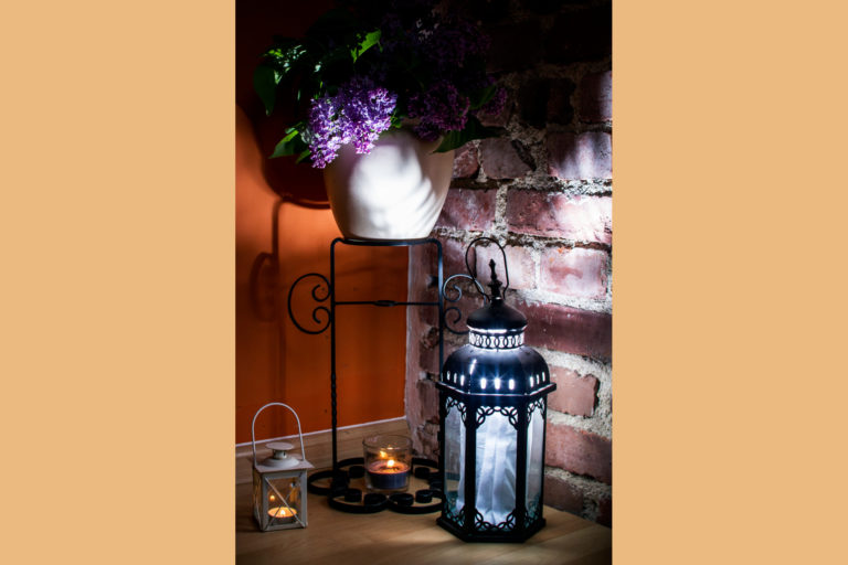 wazon w pokoju kwarc