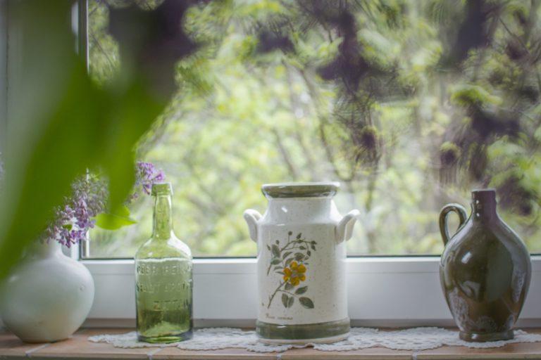 widok z okna pokoju malachity