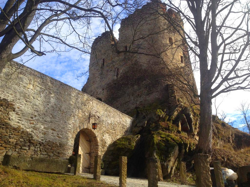 zamek świecie