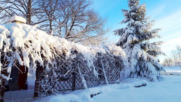 zimowa aura w wolimierzu
